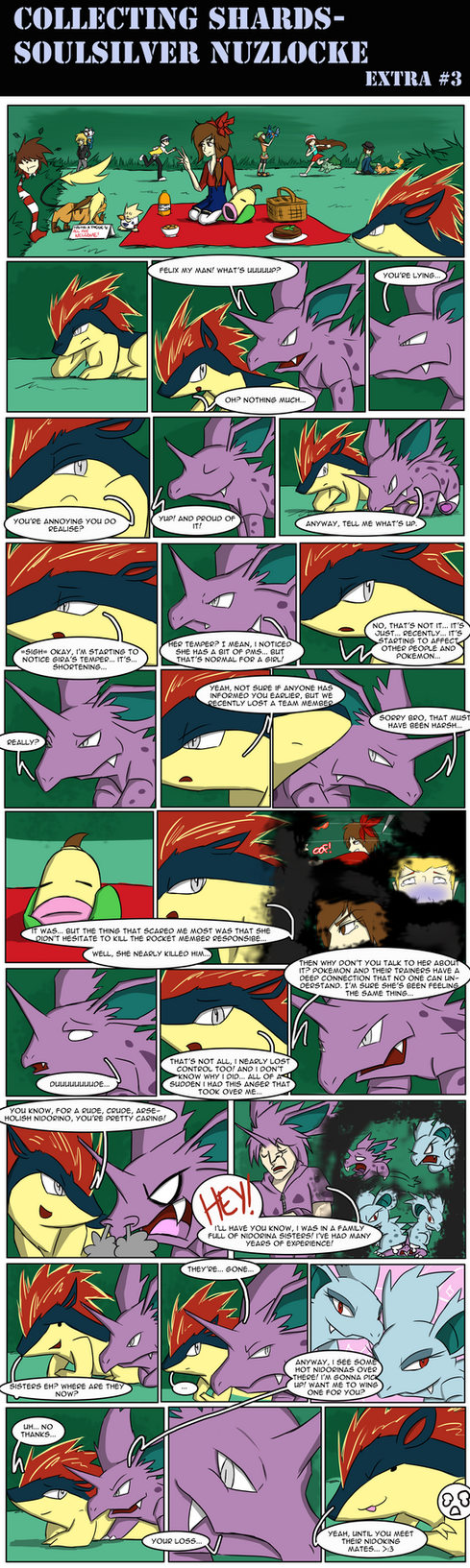 Soul Silver Nuzlocke EXTRA#4 by LittleScarecrow