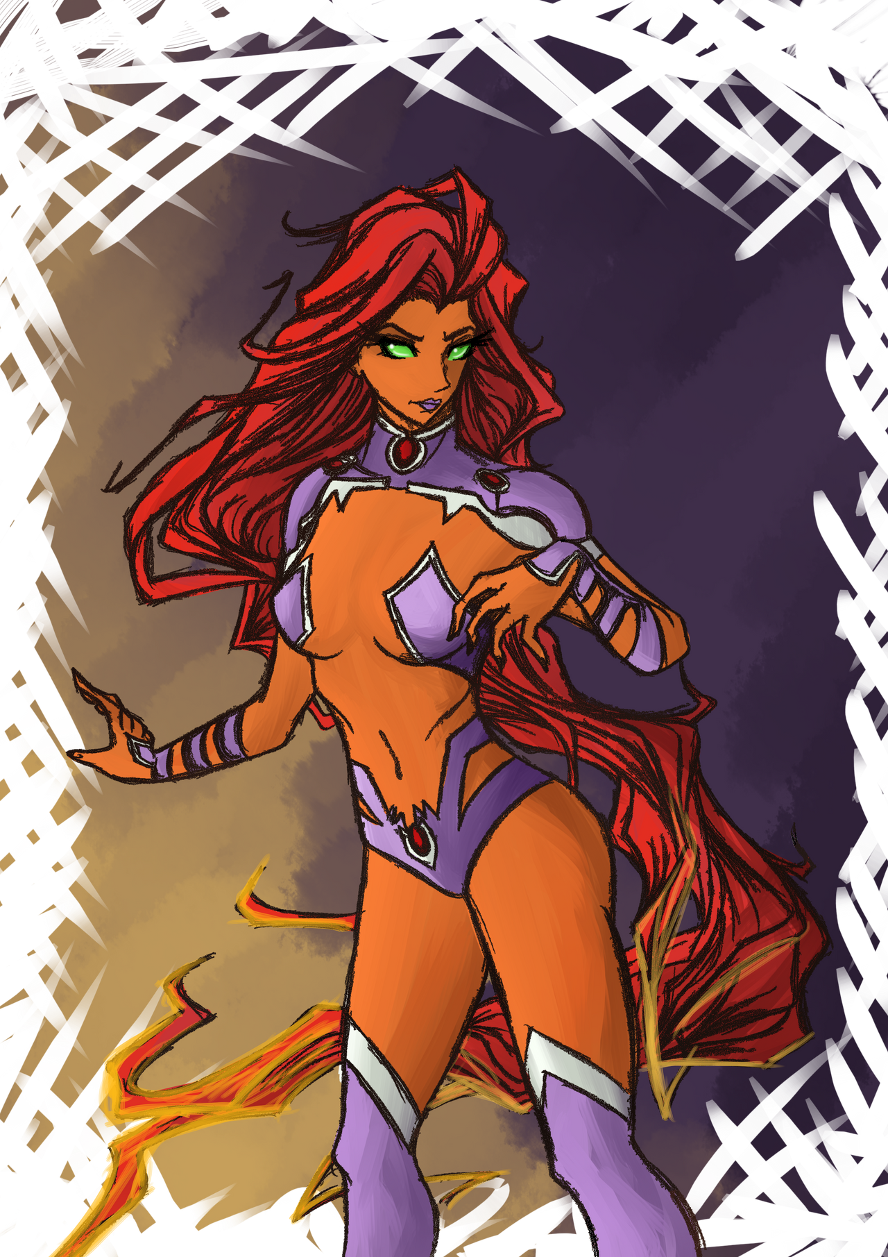 Starfire by LittleScarecrow