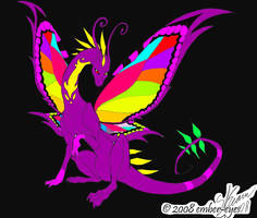 butterfly dragon by slasher-girl-wolf