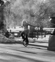 Unicycle Rider 2 by CeeJ49er