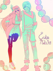 Cute Match by Lambii