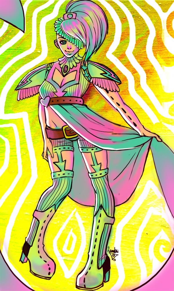 Warrior by Lambii