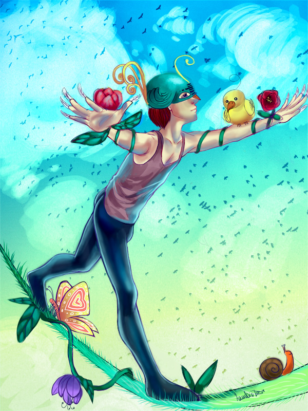Birdman by Lambii