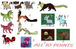 10 points! - leftover adoptables