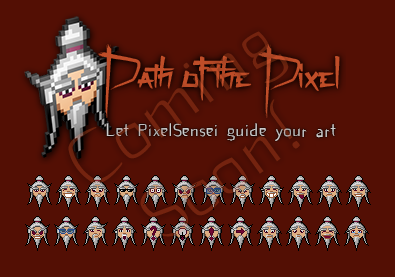 Path of the Pixel Logo and smiley set by RhynnCollins