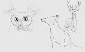 Daily Sketches - 20 April 2016 by RhynnCollins