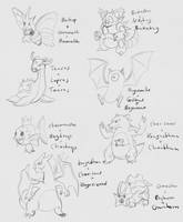Daily Sketches - 23 April 2016 by RhynnCollins