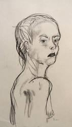 The Woman by Vesperte