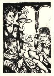 The Hunt From Dandy by Vesperte