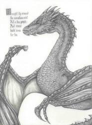 Smaug:  A Dragon Day by Vesperte