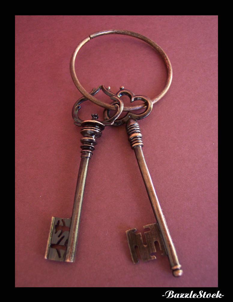 Keys, Ancient by BazzleStock