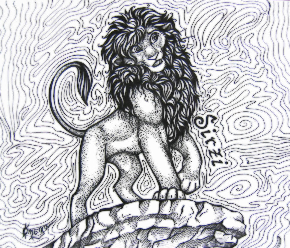 OmegaLioness (en DeviantART) Sirzi_the_lion_by_OmegaLioness
