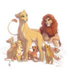 Lion familly