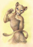 Playful Lioness by OmegaLioness