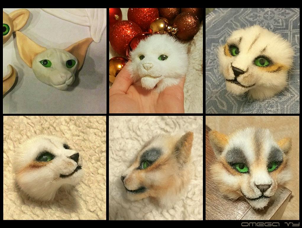 Handmade kitty