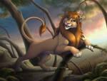 Sabatu lion