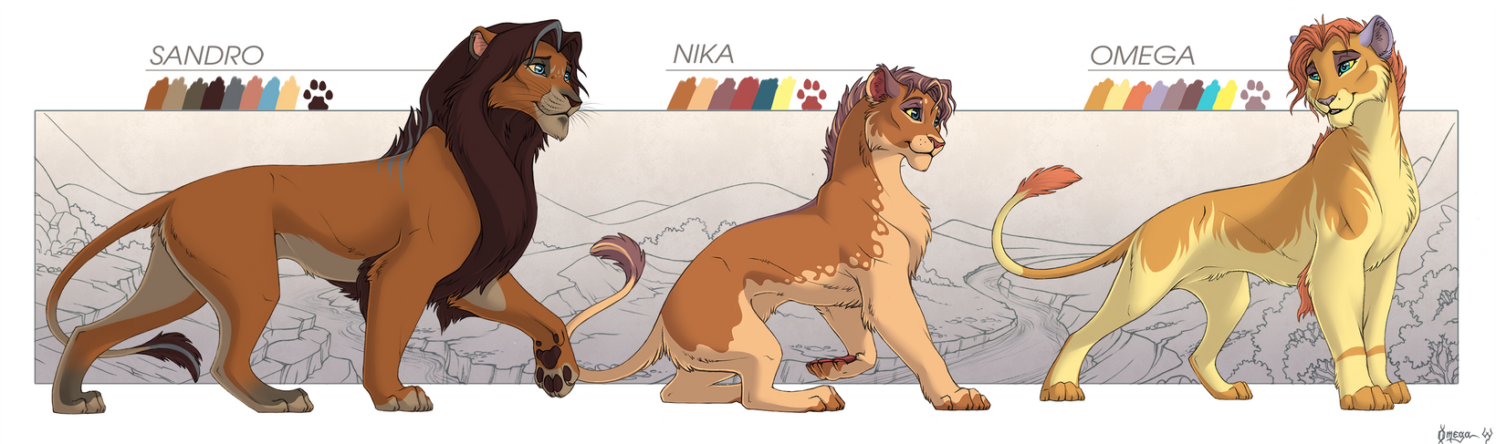 Lion family reference