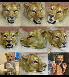 Zira lioness fursuit partial
