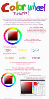 Advice or tutorial on the color wheel