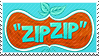 Zipzip Stamp by Cookie-and-her-foxes