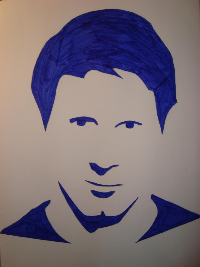 Lionel Messi Silhouette Portrait By Only1tosse On DeviantArt