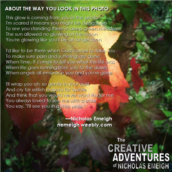 Featured Poem About The Way You Look In This Photo by nemeigh