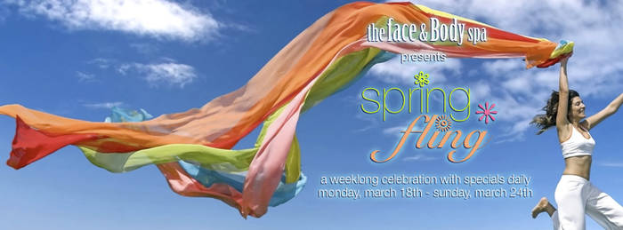 Spring Fling Spa Event Marketing by nemeigh