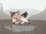 [ Maaki   P ] Wet Weather by Gecko-Cat