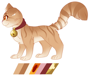 Pounce Redesign.... again by Gecko-Cat