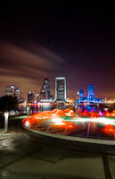 Jacksonville Lights by NC-Photography