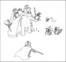Battle with King Bear