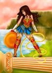 Wonder Woman by ChibifoxArt