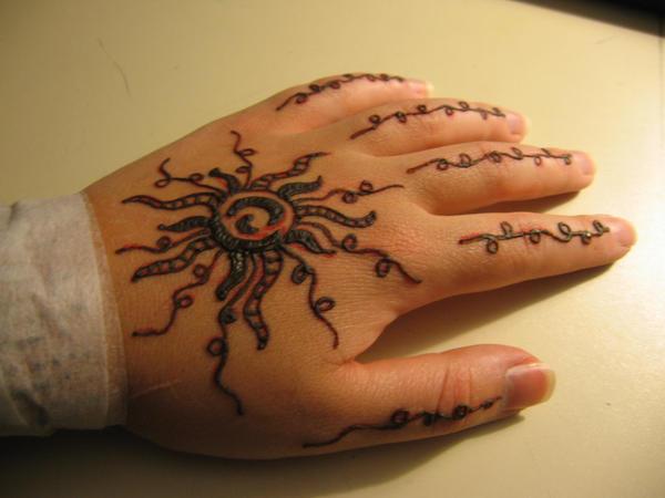 sun tattoos