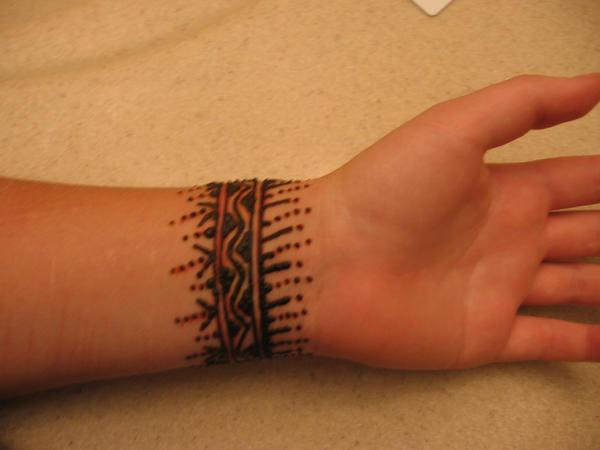 Henna On Wrist: Henna On My Wrist, Back By Nomandy On DeviantArt