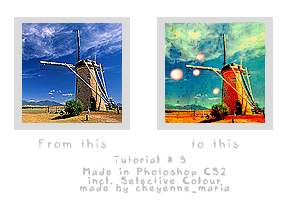 Windmill. Tutorial. 009. by cheyennemaria