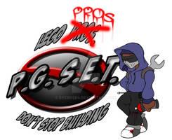 Lego Pros Logo - pass 2 -