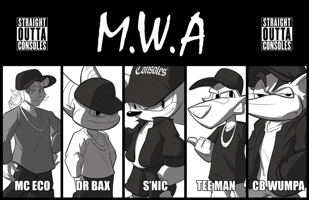 M.W.A - Straight Outta Consoles by SycrosD4