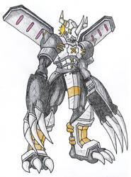 BlackWarGreymon by Trinity-Dragon