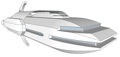 Scythe Class Carrier by Trinity-Dragon