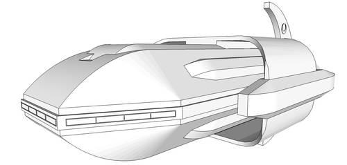 Cutlass Class Destroyer by Trinity-Dragon