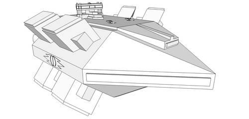 Rampart Class Shield Ship by Trinity-Dragon