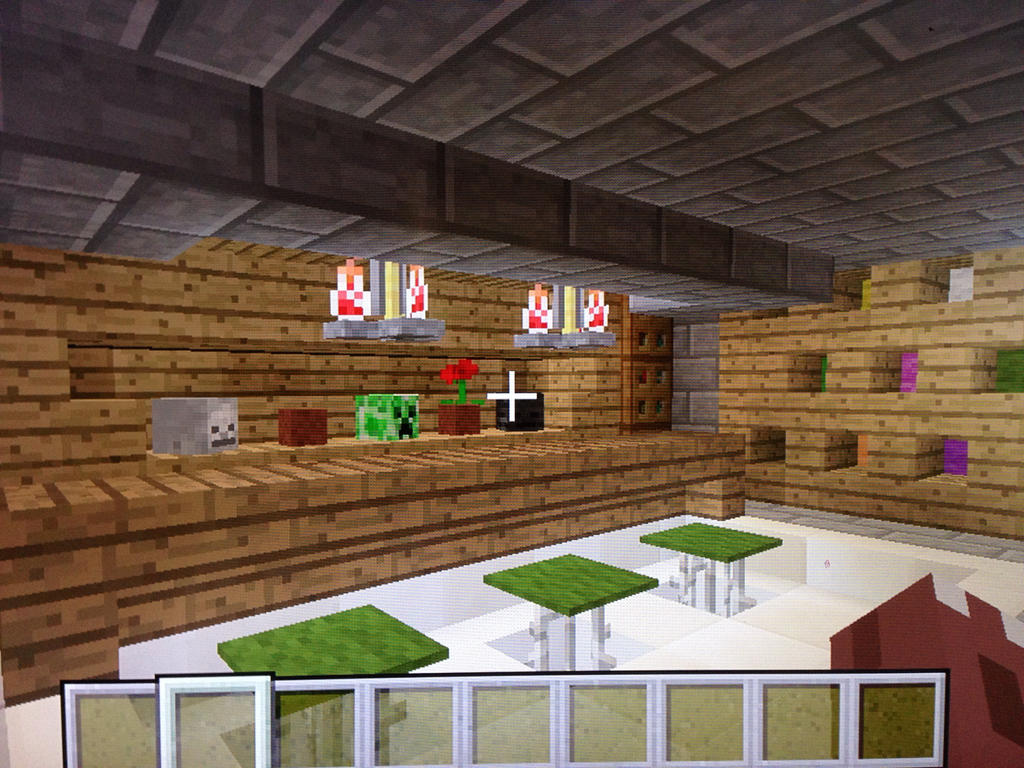 Modern Minecraft House Bar By Vincent Wullf ...