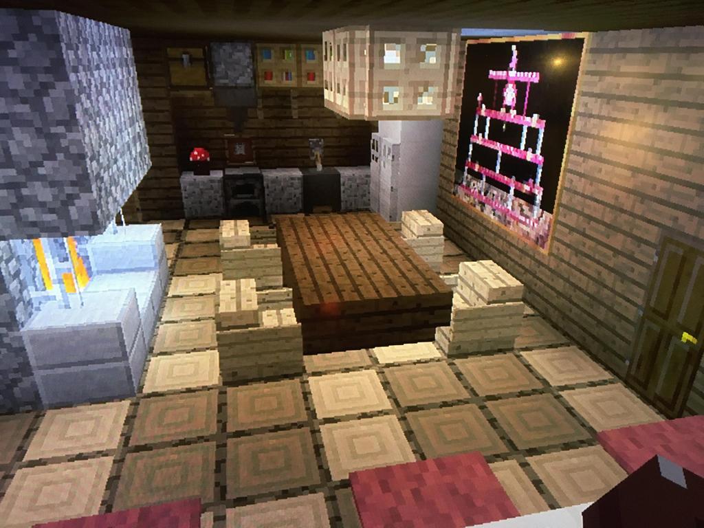 Minecraft 3 Story House Kitchen By Vincent Wullf On Deviantart