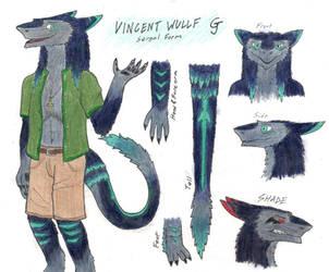 Vincent Wullf (Sergal Form) by Vincent-Wullf