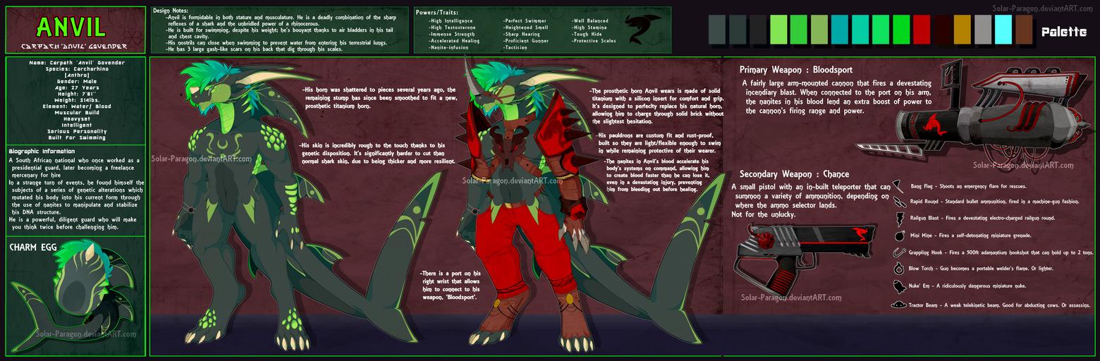 Design] Anvil The Rhino Shark by Solar-Paragon on DeviantArt