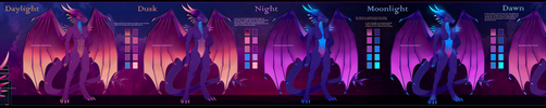 [COM] Selianth The Electric Dragoness - Spectrum by Solar-Paragon