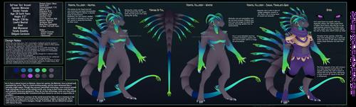 [Design] Keyword Result : Venospine Huntress by Solar-Paragon