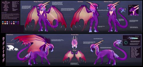 [Design] Navina The Lightning Dragoness [FULL] by Solar-Paragon