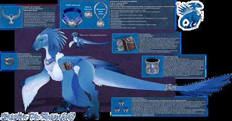[COM] Sapphire Regalia + Jewelry by Solar-Paragon