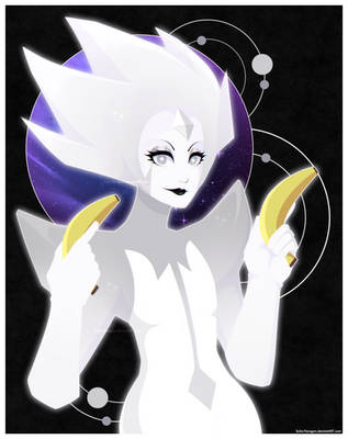 White Diamond coming to destroy the Earth by Solar-Paragon